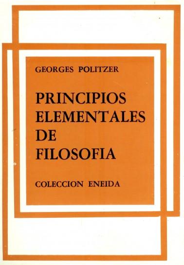 Principios elementales de la filosofía